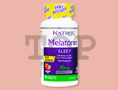 [NTR]メラトニン10mgファストディゾルブ(ストロベリー)