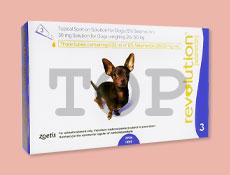 レボリューション 超小型犬用 2.6kg~5kg