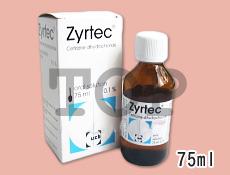 ジルテックシロップ(花粉症の治療)